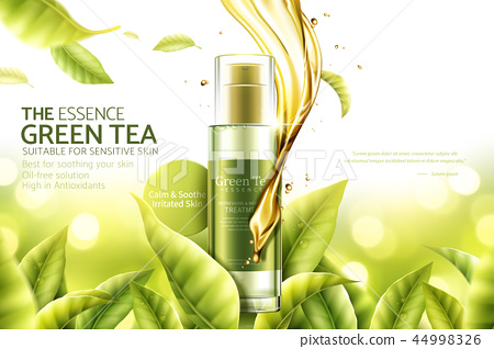 Green tea essence ads 44998326