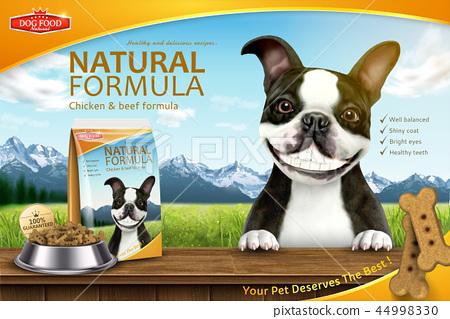 Funny dog food advertisement 44998330