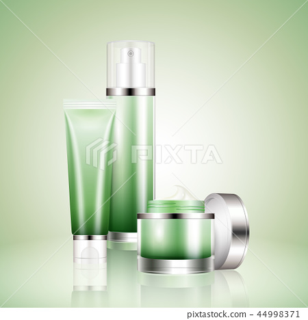 Cosmetic container mockup set 44998371