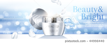 Moisture face cream banner ads 44998440