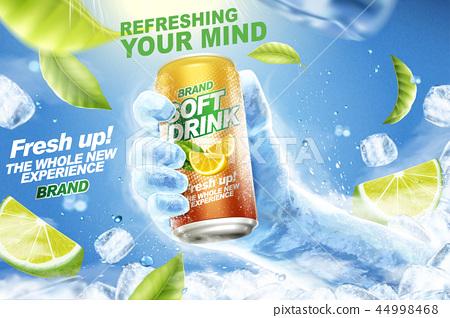 Refreshing soft drink ads 44998468