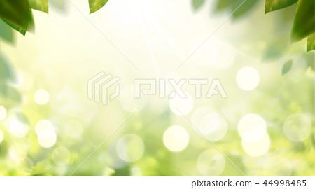 Glittering nature bokeh background 44998485
