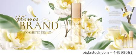 Floral skincare ads 44998661