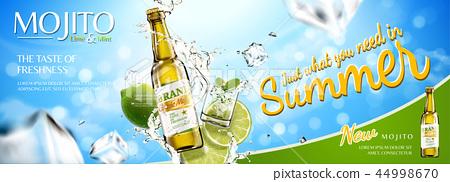 Refreshing mojito banner ads 44998670