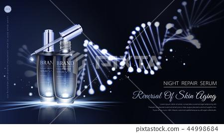 Night repair serum ads 44998684