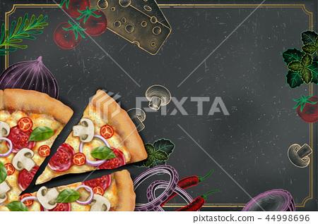 Savoury pizza ads 44998696