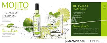 Refreshing mojito banner ads 44998698