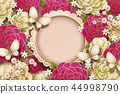 Romantic background design 44998790