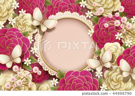Romantic background design 44998790