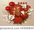 蝴蝶 新年 春節 44998800