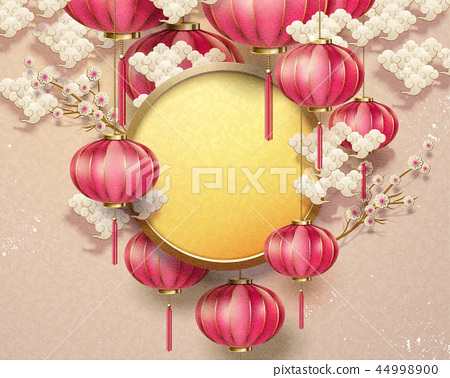 Chinese traditional background 44998900