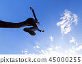 jumping, jump, business 45000255