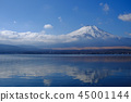 Scenery of Mt. Fuji · Lake Yamanaka 45001144
