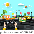 city pin map 45004541