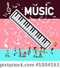 keyboard, party, piano 45004563