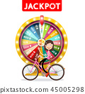 Wheel of Fortune with Jackpot Title 45005298