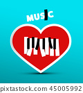 heart, love, music 45005992