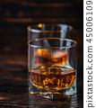 Whisky, whiskey or bourbon 45006109