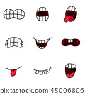 mouth tongue expression 45006806