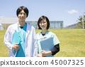 年輕醫生護士醫院 45007325
