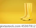 Autumn Fashion Advert Illustration. 45007812