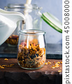 Homemade granola with honey and chestnuts 45008000