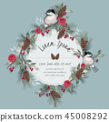 flowers vector bird 45008292