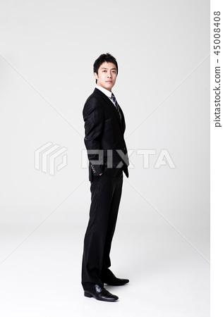 비즈니스맨,회사원,남자 45008408