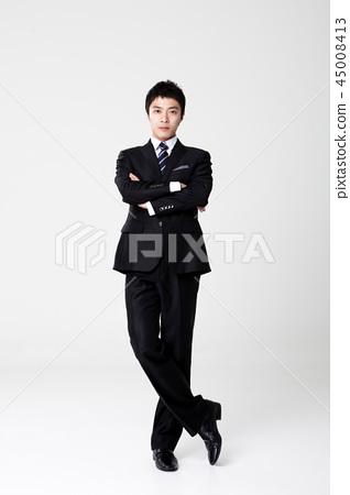 비즈니스맨,회사원,남자 45008413