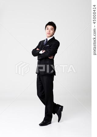 Businessman, office worker, man 45008414