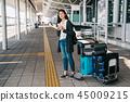 亞洲 東方 機場 45009215