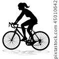 bicycle,silhouette,bike 45010642