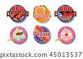 label, food, vector 45013537