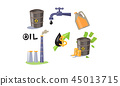 oil vector icon 45013715