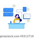 illustration development programmer 45013716