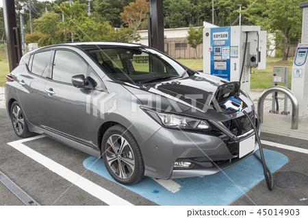 電動車充電現場採用高速公路服務區快速充電設備EV QUICK CHARGER 45014903