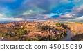 Panorama of Toledo, Castilla La Mancha, Spain 45015039