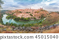 Panorama of Toledo, Castilla La Mancha, Spain 45015040