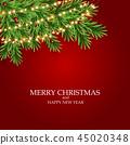 backgrounds christmas garland 45020348