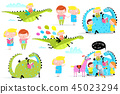 Kids Reading Books Dragon Clip Art Collection 45023294