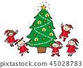 Christmas tree 45028783