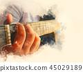 吉他 玩耍 玩 45029189