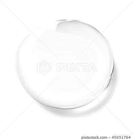透明水滴,水滴例證,水下落,純淨的水 45031764