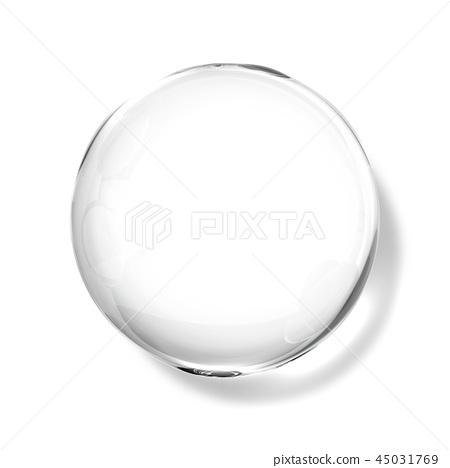 투명한 물방울, 물방울 일러스트, 워터드롭, 순수한 물 45031769