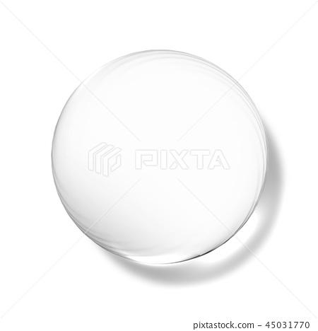 透明水滴,水滴例證,水下落,純淨的水 45031770
