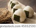 rice ball 45032593