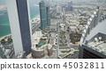 Beautiful top view of Abu Dhabi 45032811