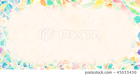 鮮豔細緻的抽象底紋邊框特寫材質紋理背景,正視圖(高分辨率 2D CG 渲染∕著色插圖) 45033430