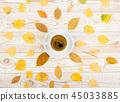 coffee, yellow, autumn 45033885