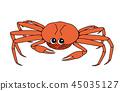 雪螃蟹母馬鯖魚 45035127